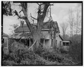 SOUTHWEST VIEW - Couey-Owings-Knowles House, U.S. Route 27 (State Route 1), Summerville, Chattooga County, GA HABS GA,28-SUM.V,1-6.tif