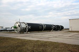 SS-18 missile, Strategic Missile Forces museum.JPG