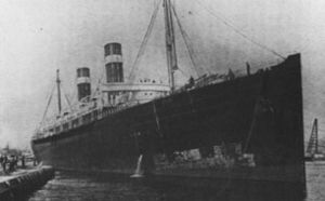 SS Saint Paul (1895) - The St. Paul in port.