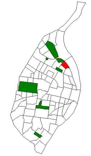 College Hill, St. Louis - Image: STL Neighborhood Map 66