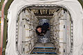 STS-135 Chris Ferguson floats through the Raffaello MPLM.jpg