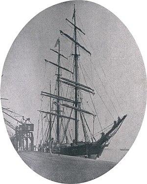 Lwów (ship) - In Rio de Janeiro.
