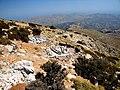 Sabine Beckmann Mt Katharo Tsivi E flank 1300m view to N 8 11.jpg