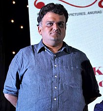 Sachin Kundalkar at Audio release of 'Aiyyaa'.jpg