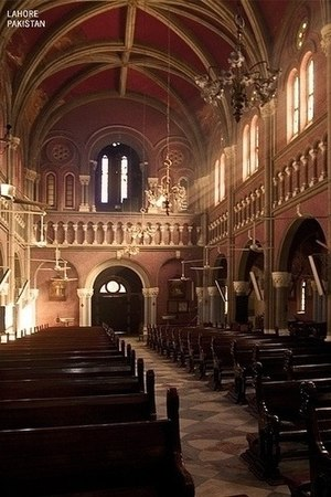 Sacred Heart Cathedral, Lahore - Sacred Heart Cathedral (inside)