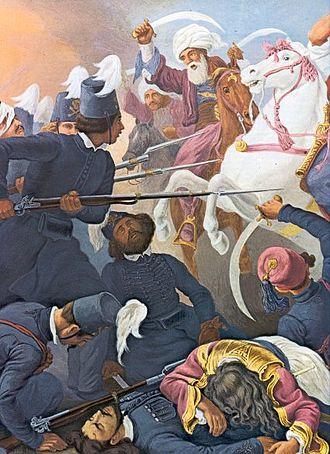 Sacred Band (1821) - The Sacred Band in the Battle of Drăgășani
