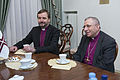 Saeimas priekšsēdētāja tiekas ar Pasaules Luterāņu federācijas prezidentu (16395089762).jpg