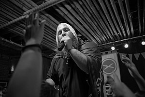 Sage Francis - Sage Francis performing at the 2013 Treefort Music Fest