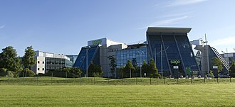 Newcastle Great Park - The Great Park headquarters of business software company Sage Group plc.