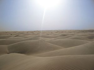 33rd century BC - The sun shines over Saharan dunes