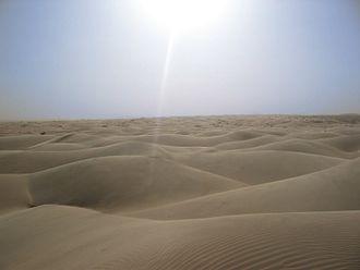33rd century BC - The sun shines over Saharan dunes