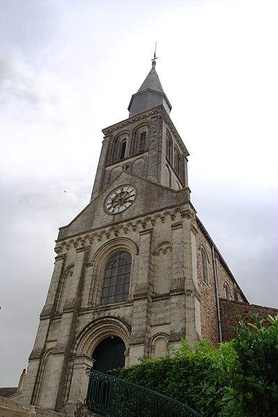 Église Saint-Denis de Saint-Denis-d'Orques.