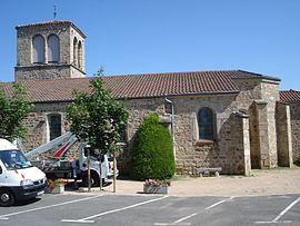 The church in Saint-Georges-Haute-Ville