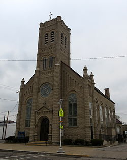 Saint Joseph Catholic Church located on North Liberty Street