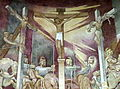 Saint Leonard Faith Community (Centerville, Ohio) - mural, The Crucifixion, detail.jpg