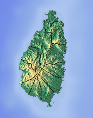 Location map Saint Lucia