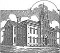 Saint Mary's Grade School Bloomington, Illinois 1884.jpg