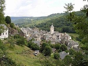 Saint-Chély-d'Aubrac - A general view of Saint-Chély-d'Aubrac