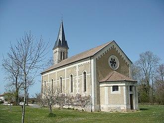 Angoumé - The church of Angoumé