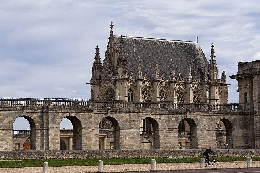 Sainte chapelle du château de Vincennes (94)