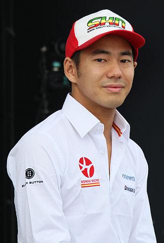 Sakon Yamamoto - Yamamoto at the Motorsport Japan event in 2010.