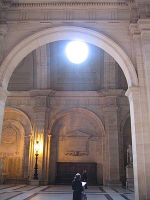 Tribunal de grande instance de Paris - Image: Salle du tribunal de grande instance de Paris