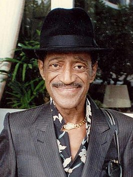 Sammy Davis jr. in 1989