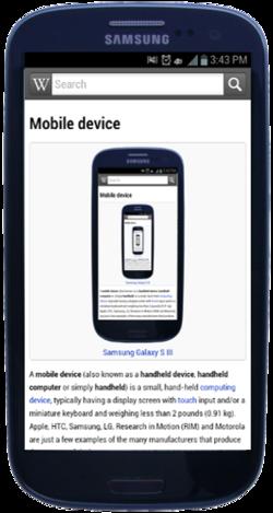 Samsung Galaxy S III Pebble Blue WikiWikipedia.png