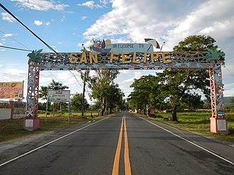 San Felipe, Zambales - Welcome Arch