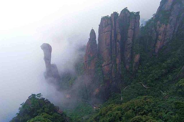 SanQingShan - najzvláštnejšie miesta na svete