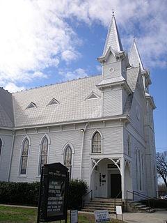First United Methodist Church (San Marcos, Texas) Church in Texas, United States