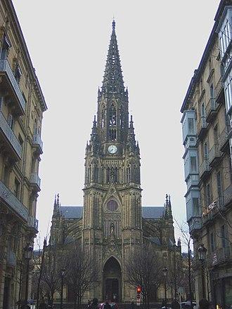 Roman Catholic Diocese of San Sebastián - San Sebastián Cathedral