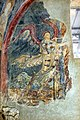 San lorenzo in insula, cripta di epifanio, affreschi di scuola benedettina, 824-842 ca., annunciazione 02.jpg
