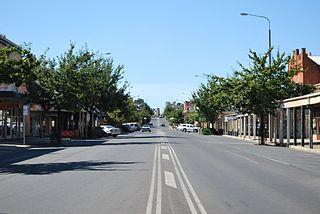 Corowa Town in New South Wales, Australia