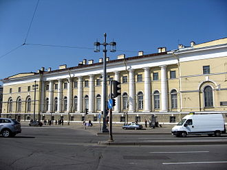 Zoological Museum of the Zoological Institute of the Russian Academy of Sciences - The museum building