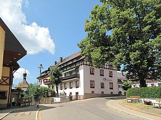 Sankt Peter, Baden-Württemberg - Image: Sankt Peter, straatzicht die Steyrer Strasse foto 6 2013 07 25 12.44