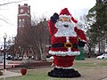 Santa Clause in front of Dooly County Courthouse 2014.JPG