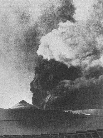 Santa María (volcano) - Santa María, 1902 eruption