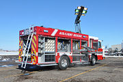 A Santa Monica Fire Department Light and Air unit