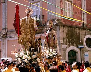 San Severo - Procession of the Saints in San Severo