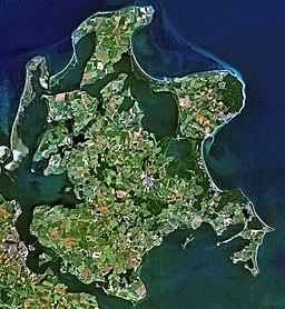 Satellite Image of Ruegen
