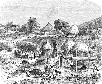 Romani people in Romania - Image: Satra in 1850s Romania