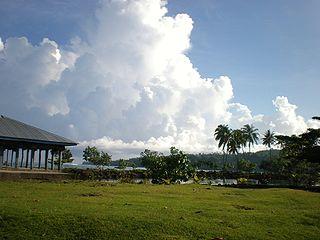 Village district in Gagaifomauga, Samoa