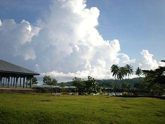 Safune - View in Safune village district, 2009