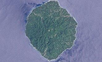 Savo Island - Landsat view of Savo island