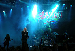 Saxon no Sweden Rock Festival 2008.