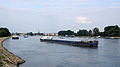 Schiffsstau auf dem Rhein bei Köln 2013-08-20-02.JPG