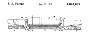 Schnabel car - US patent image