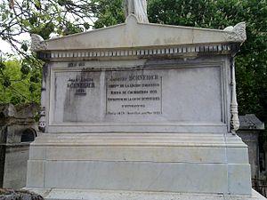 Jacques Schneider - Schneider's grave