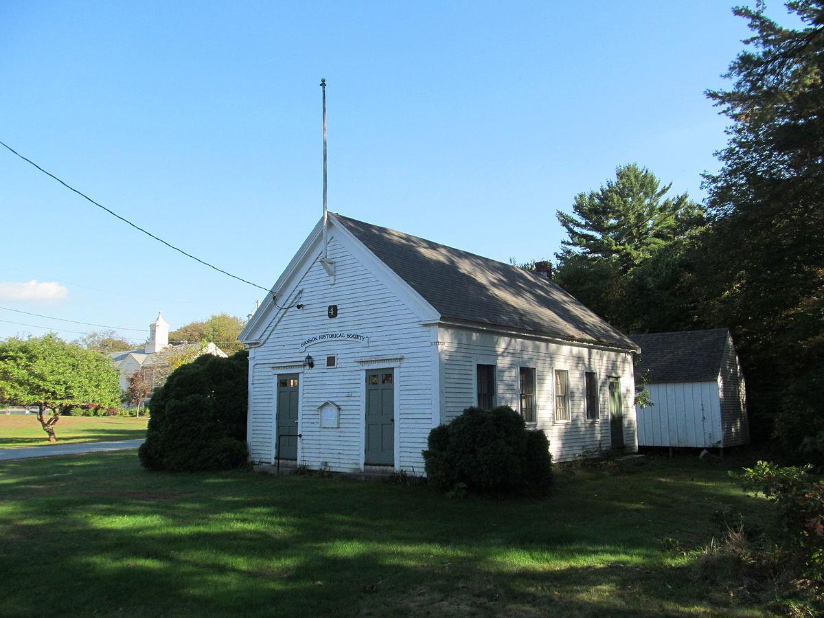 District 7 School Hanson Massachusetts Wikipedia
